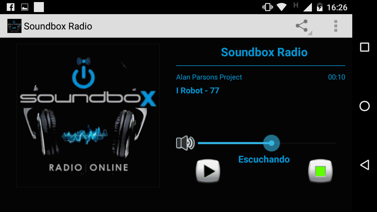 Soundbox Radio Online- screenshot