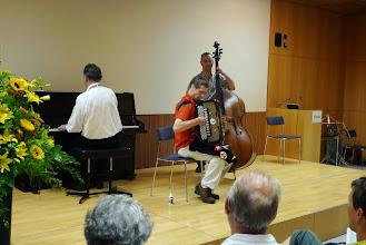 Photo: Das Peter Schär - Trio bot eine absolute Spitzenleistung