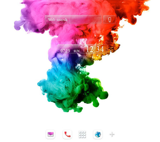 Cool wallpaper-Color Explosion