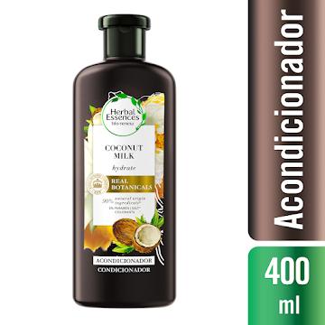 Acondicionador Herbal Essences Bio:Renew Coconut Milk 400 ml