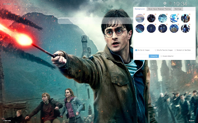 Harry Potter - HD Wallpapers Theme