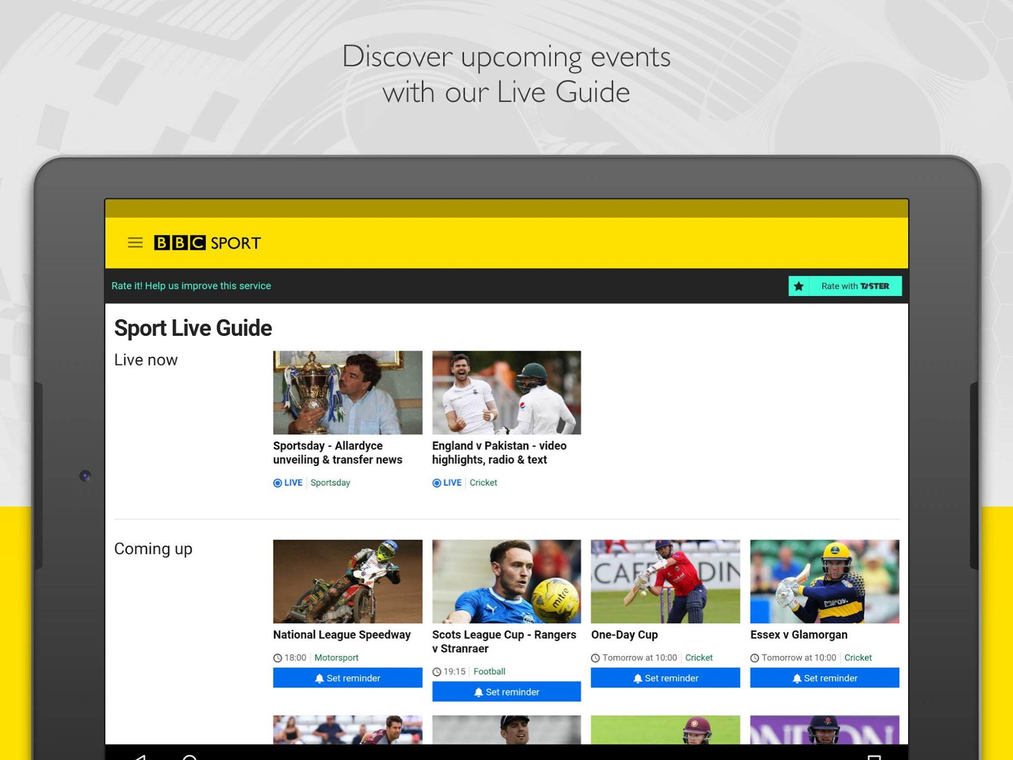 BBC Sport screenshot #12