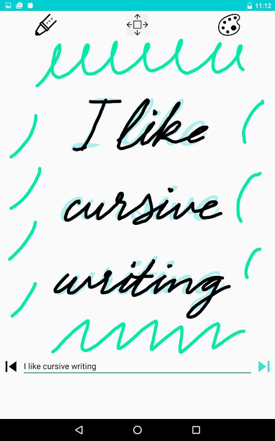 Cursive writing asmr role