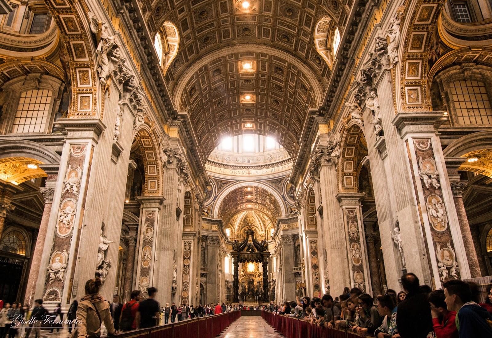 Vương Cung Thánh Đường Thánh Phê-rô – Roma, Ý