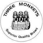Logo for Three Monkeys Brewing Company