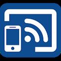 Cast to TV + Chromecast icon