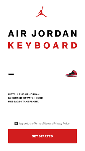 Jordan Keyboard screenshot