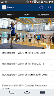 UTC Campus Rec- screenshot thumbnail
