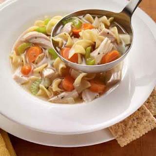 Homemade Turkey Soup.