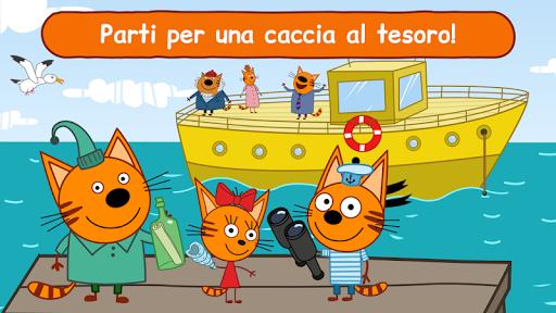 Kid-E-Cats: giochi divertenti, cartoni per bambini  άμαξα προς μίσθωση screenshots 1
