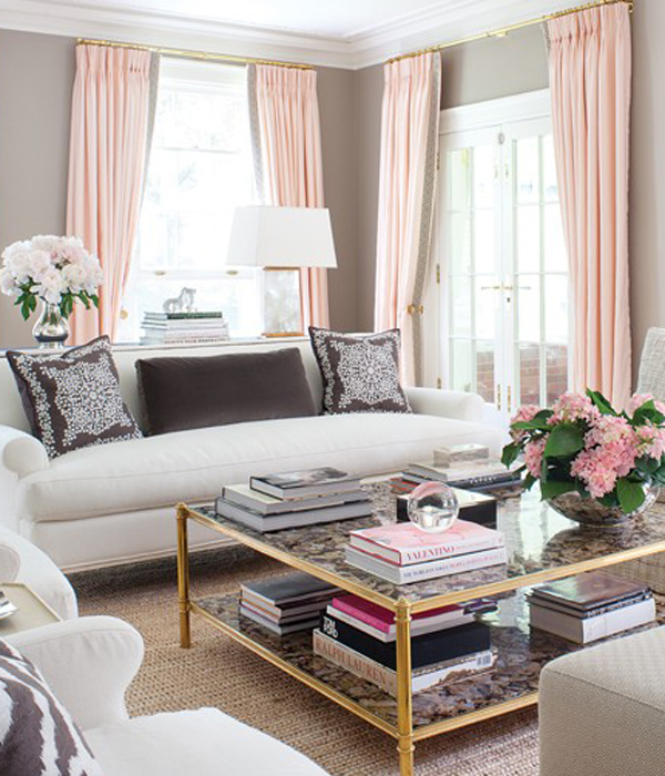 Decorating With Pink Impressive How To Decorate With The Color Pink In The Home  Crane & Canopy Design Ideas
