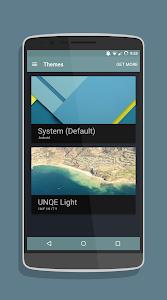 UNQE Dark cm12/cm12.1 theme v3.6