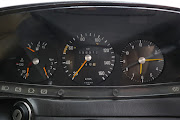 The instrument cluster is simple and easy to read.