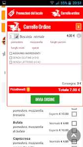 ProntoPizza screenshot 2