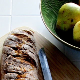 Soft and Chewy Baguette Bread.