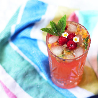 Raspberry and Passion Fruit Virgin Mojito Recipe