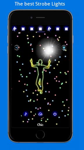 Disco Light: Flashlight with Strobe Light & Music screenshot 2