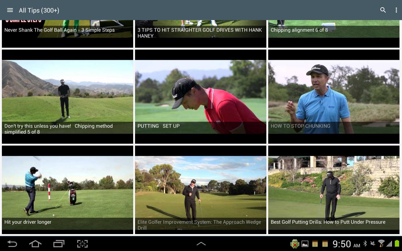 golf 6 tipps