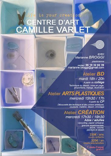 ARTS PLASTIQUES / DESSIN / BD / MANGAles autres cours du CENTRE D'ART CAMILLE VARLET