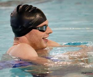 Louis Croenen zwemt Belgisch record en wist zo besttijd van op Olympische Spelen 2012 uit