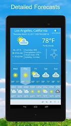 Download Weather 2 weeks for android | Seedroid