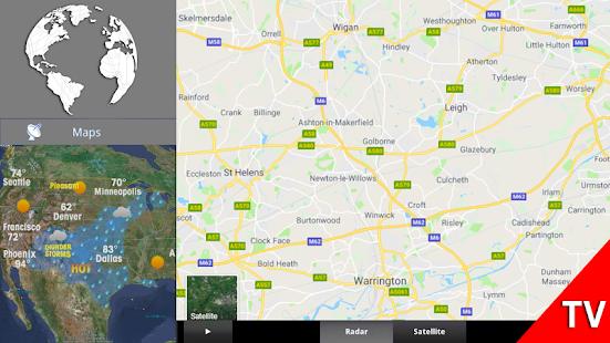 Weather Forecast: Temperature Radar Live Update - náhled