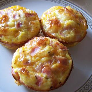 Ham Egg and Cheese Muffins