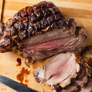 Roast Leg of Lamb.