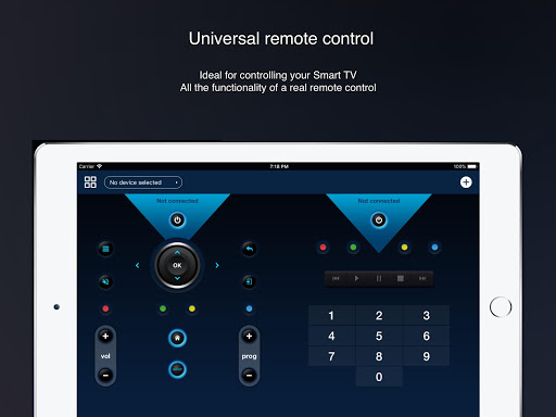 Universal remote control for smart TVs screenshot 4
