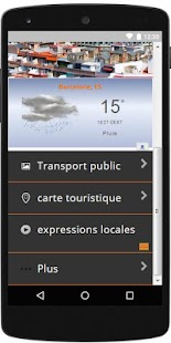 Visiter Barcelone Travel app - náhled