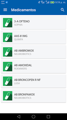 Vademecum Paraguay 1.0.4 screenshots 3