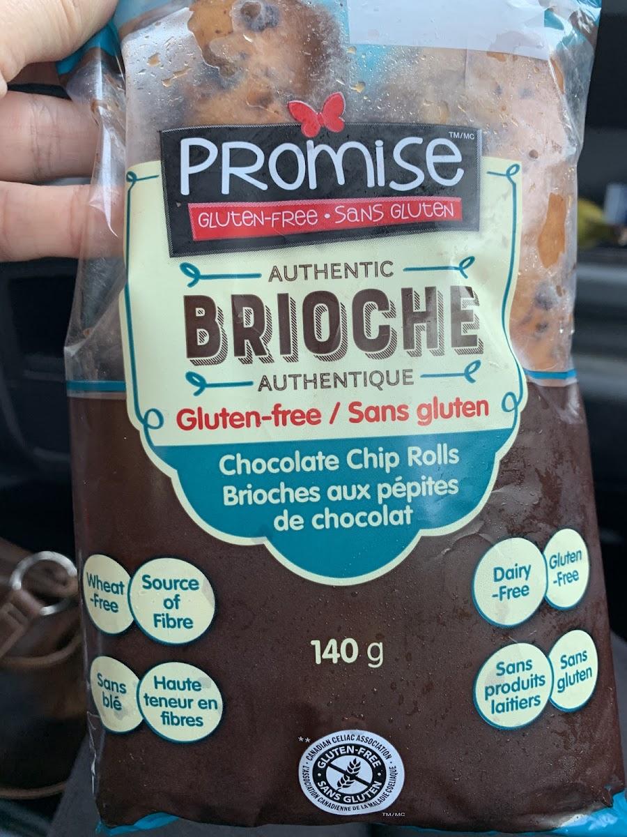 Brioche Chocolate Chip Rolls