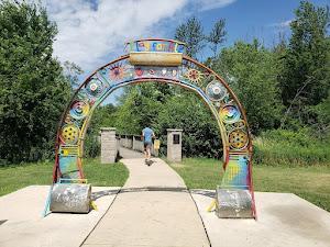 Parque urbano - Sensory Garden Playground