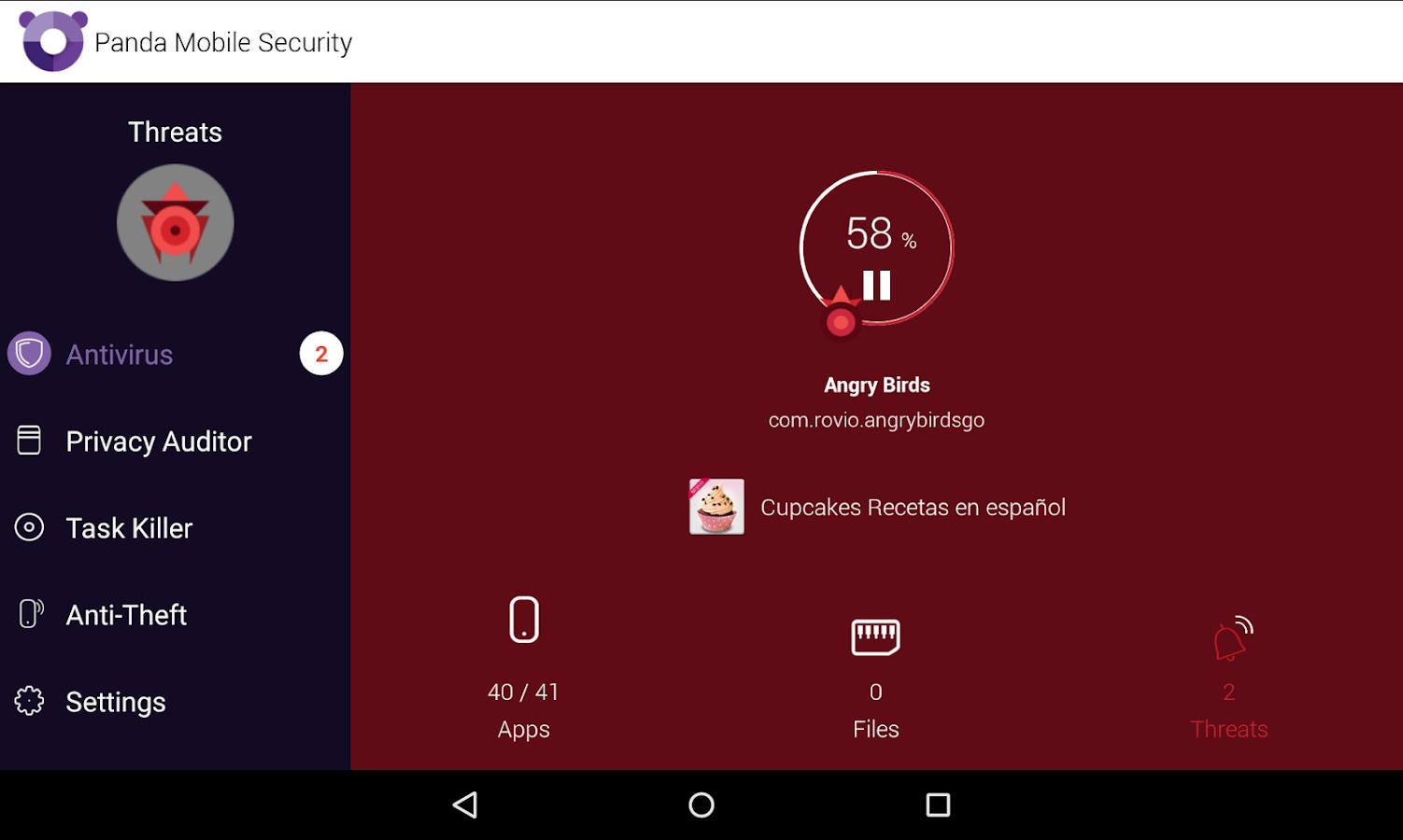 Free Antivirus and Security - screenshot