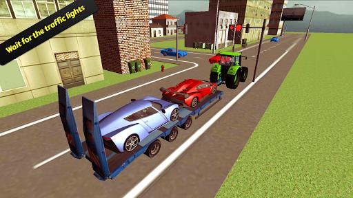 高級車トランスポーター3D