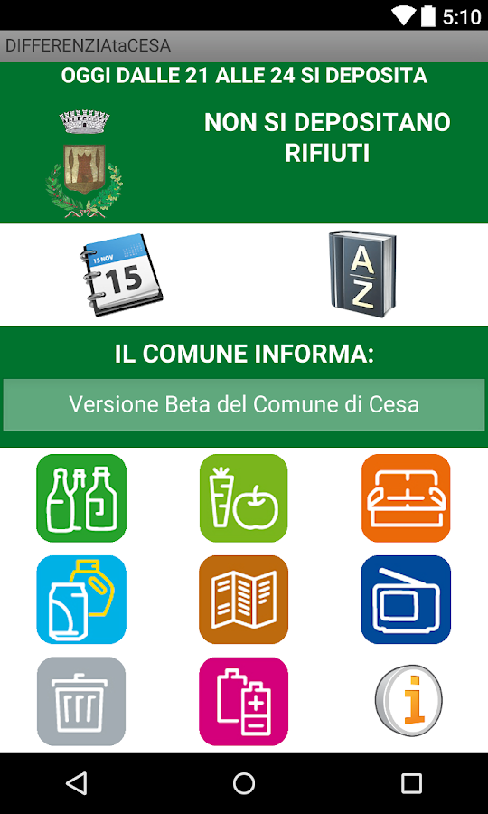 DIFFERENZIAta CESA(Vers.Beta)- screenshot