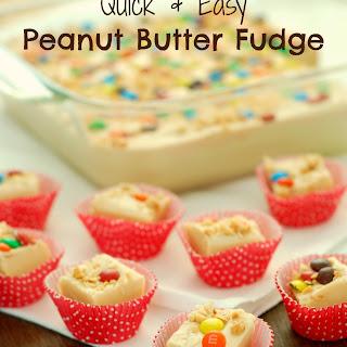 Quick & Easy Peanut Butter Fudge