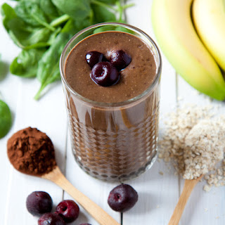 Cocoa And Cherry Smoothie