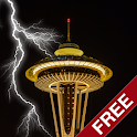 Thunderstorm Seattle - Live Wallpaper icon