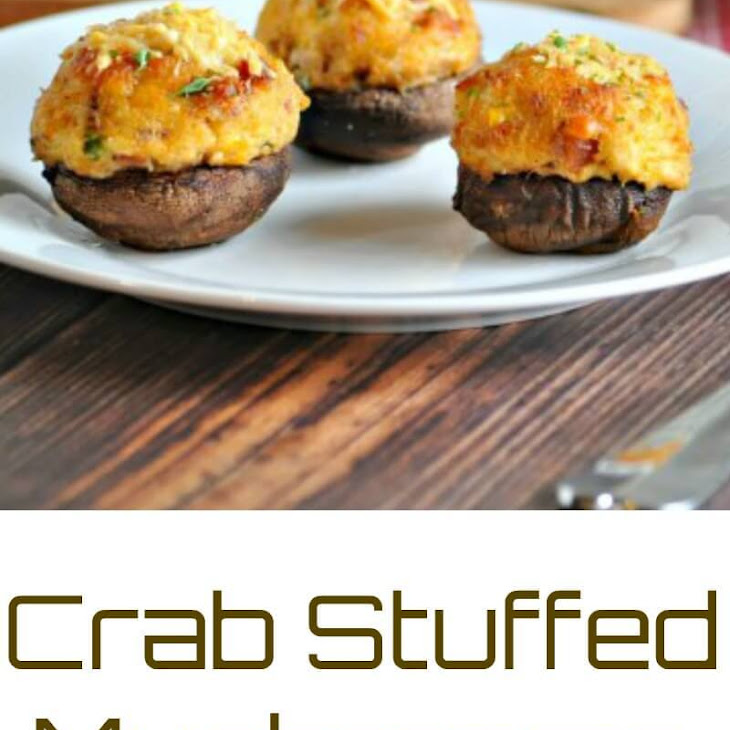 Crab Stuffed Mushrooms with Bacon – Low Carb, Gluten Free Recipe