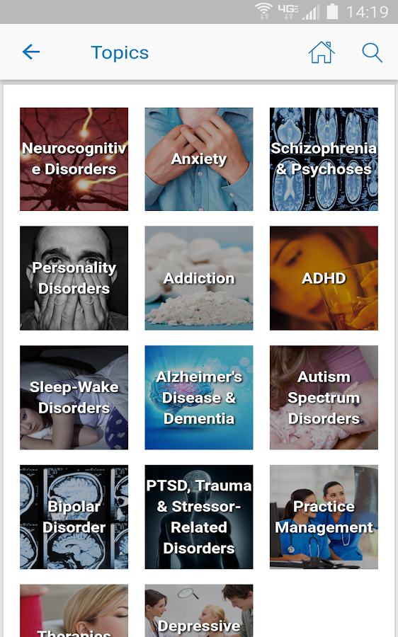 Psychiatry Advisor- screenshot