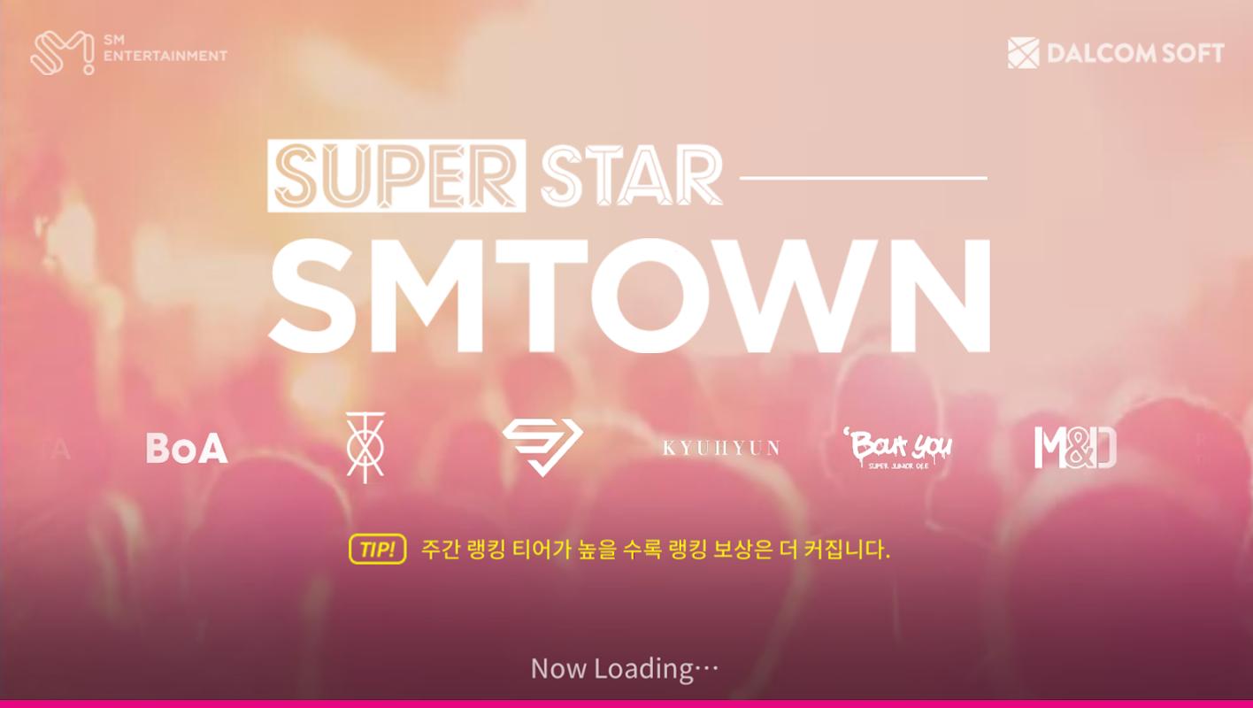 SuperStar SMTOWN screenshots