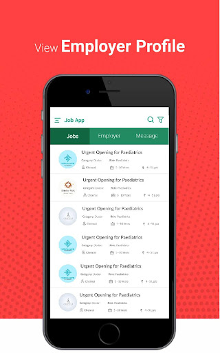 Jobs App - Chat for Jobs screenshots 3