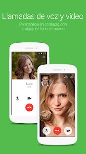 LINE: Llama y mensajea gratis: miniatura de captura de pantalla