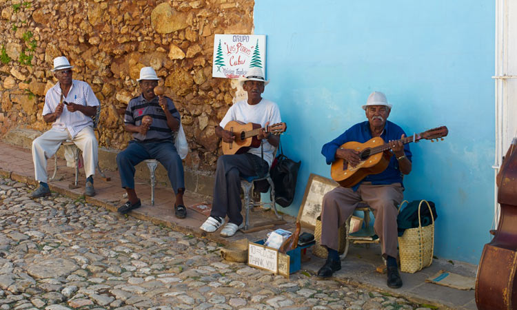 Grupo Los Pinos, seen during a Havana Journeys tour of Old Havana.