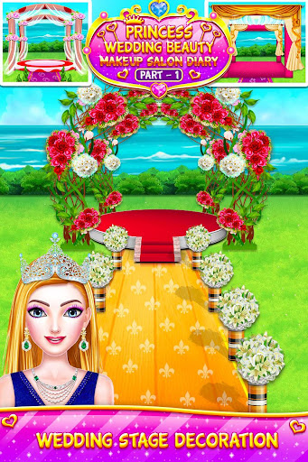 Princess Wedding Magic Makeup Salon Diary Part 1 screenshot 13