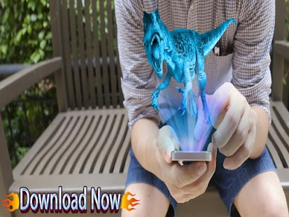 AR Hologram Dino Simulator - náhled