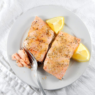 Easy Baked Salmon.
