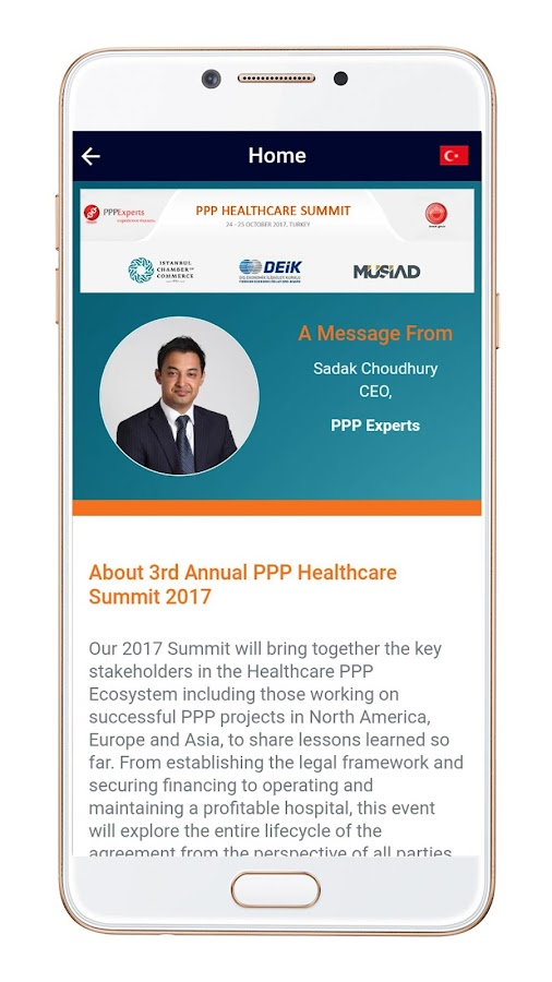 PPP Healthcare Summit 2017- screenshot