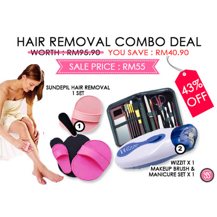 Hair Removal Combo by Supermodels Secrets